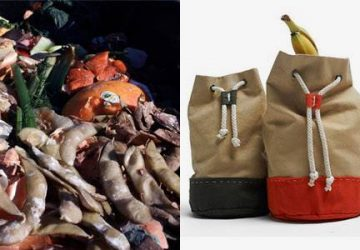 Fattige familier bytter skrald til mad