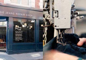 Nudie Jeans Repair Shop