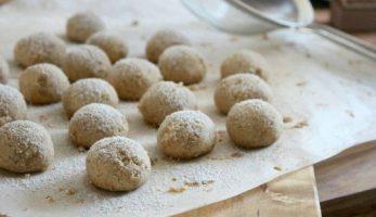 Marokkanske småkager - Ghribas