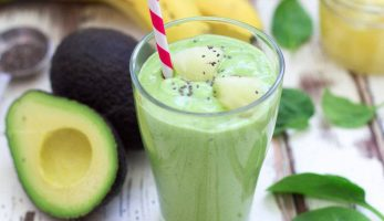 Avocado & spinat smoothie