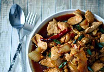 Thai cashewnødder med kylling