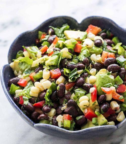 Sort Bønnesalat Denne Bønnesalat Er En Perfekt Salat Som Tilbehør
