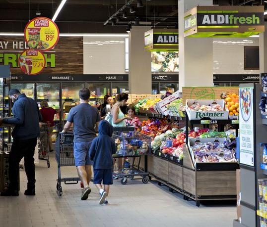 ALDI: Deres emballage kan genbruges, genanvendes, eller komposteres inden 2025