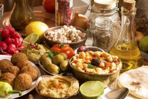 En frokost i Israel