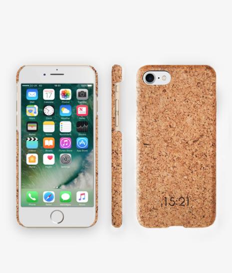 Bionedbrydelige smartphone-cover af kork