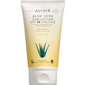 AVIVIR Aloe Vera Sun Lotion SPF 30 150 ml 144,94 kr. købes i følgende butikker: Helsekost, matas & apoteket
