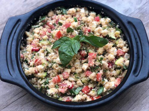 Couscous salat med feta