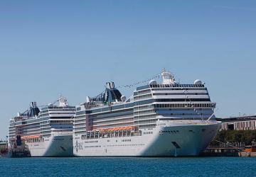 Krydstogtskibe en af de helt store miljøsyndere