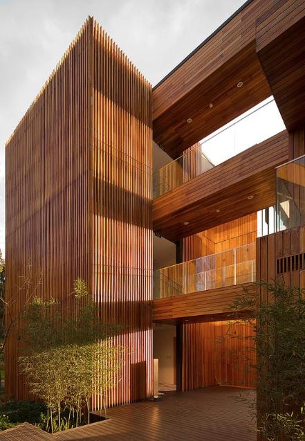 Bambus som byggemateriale