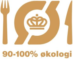 Det Økologiske Spisemærke i guld