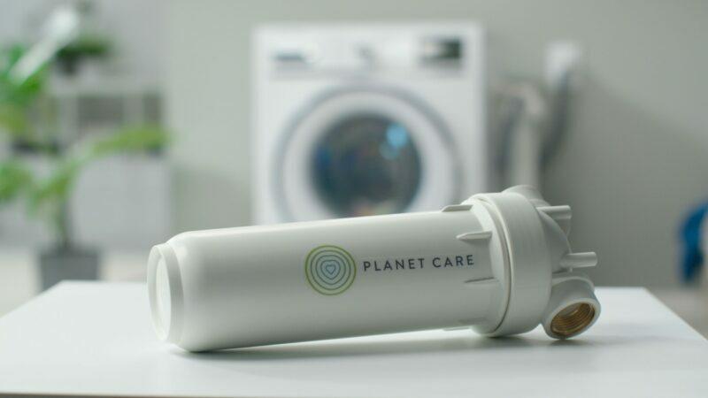 Vaskemaskine filter opsamler mikroplast